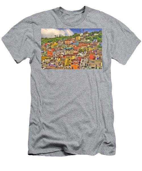 Guanajuato Hillside Men's T-Shirt (Athletic Fit)