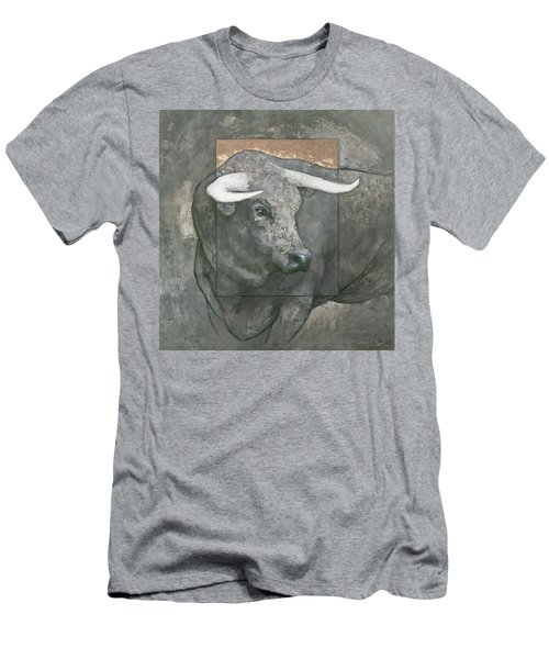 Men's T-Shirt (Athletic Fit) featuring the painting Guardian by Steve Mitchell