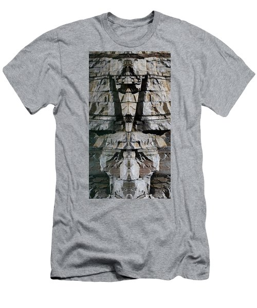 Men's T-Shirt (Slim Fit) featuring the photograph Guardians Of The Lake by Cathie Douglas