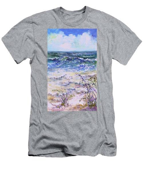 Gulf Coast Florida Keys  Men's T-Shirt (Athletic Fit)