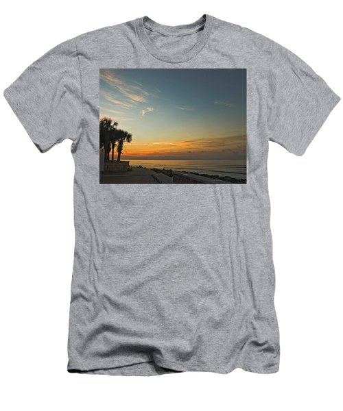 Gulf Of Mexico Sunrise Men's T-Shirt (Athletic Fit)
