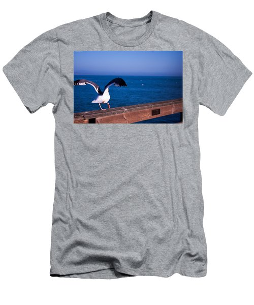 Gull Dance Men's T-Shirt (Athletic Fit)