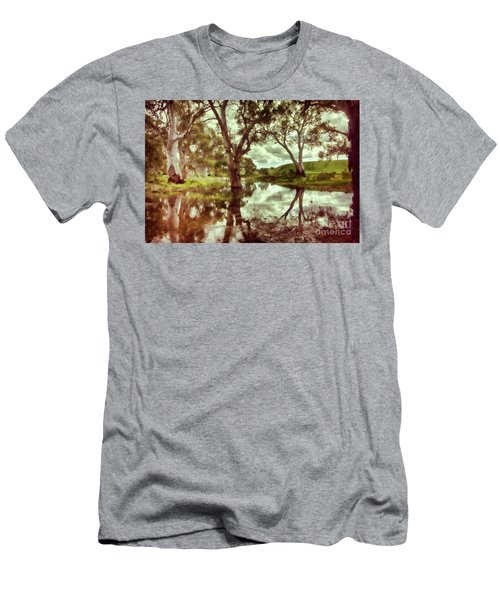 Gum Creek V2 Men's T-Shirt (Slim Fit) by Douglas Barnard