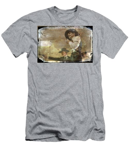 Gunslinger II Doc Holliday Men's T-Shirt (Athletic Fit)