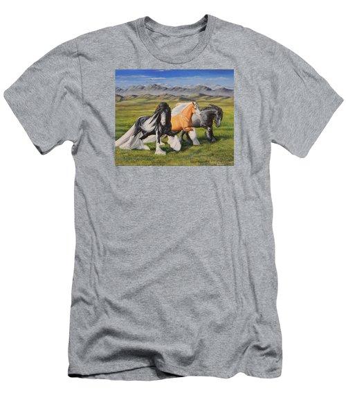 Gypsy Medley Men's T-Shirt (Slim Fit) by Ruanna Sion Shadd a'Dann'l Yoder