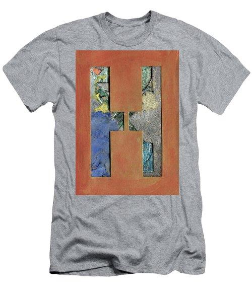 h Men's T-Shirt (Athletic Fit)
