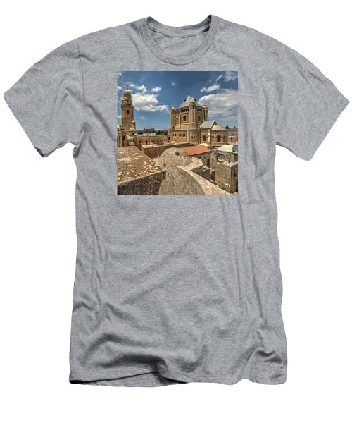 Hagia Maria Sion 1 Men's T-Shirt (Athletic Fit)