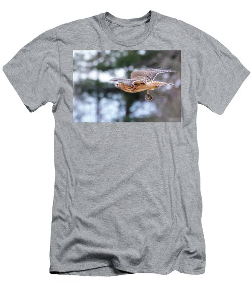 Men's T-Shirt (Athletic Fit) featuring the photograph Hal Picking Up Dinner 2 by Brian Hale