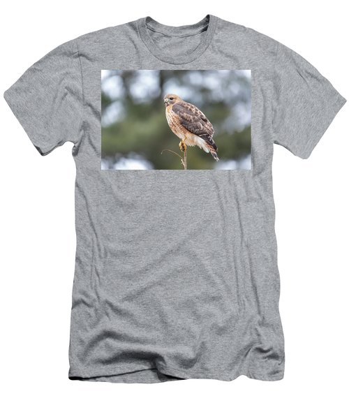 Men's T-Shirt (Athletic Fit) featuring the photograph Hal The Hybrid Portrait 3 by Brian Hale
