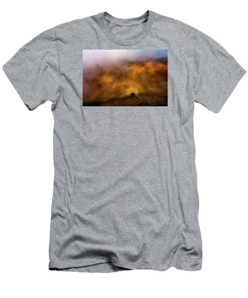Men's T-Shirt (Slim Fit) featuring the photograph Haleakala Halo by M G Whittingham