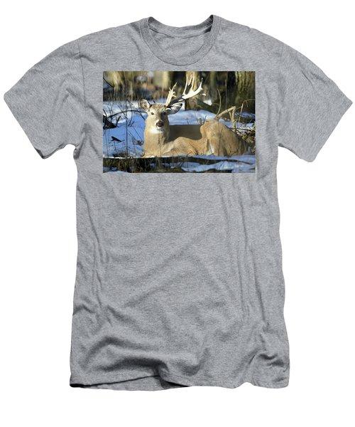 Half A Monster Men's T-Shirt (Slim Fit) by Brook Burling