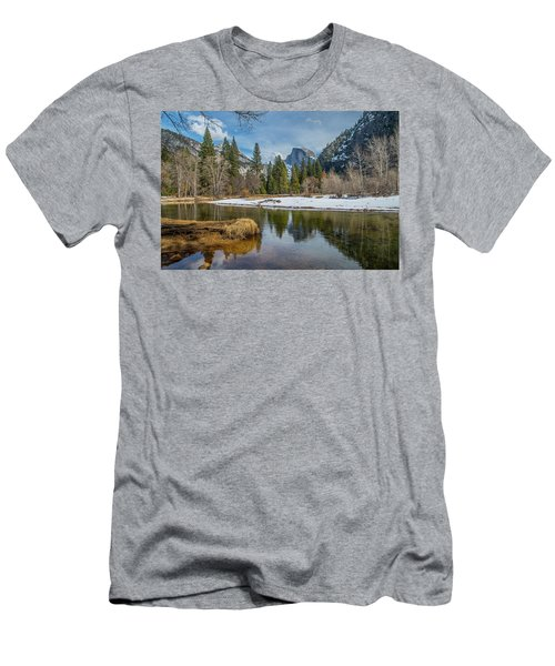Half Dome Vista Men's T-Shirt (Athletic Fit)