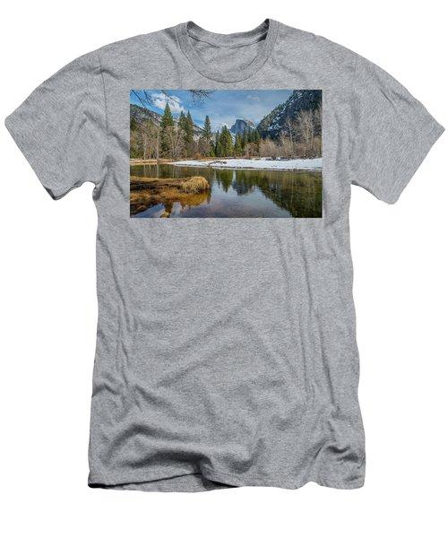 Half Dome Vista Men's T-Shirt (Athletic Fit)