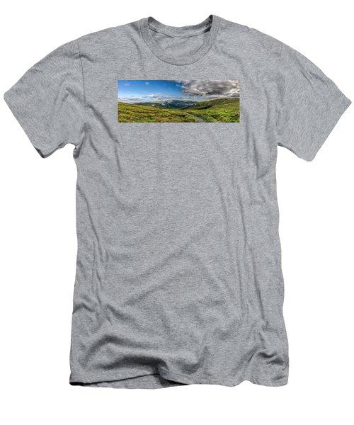Half Way Up The Merrick Men's T-Shirt (Athletic Fit)