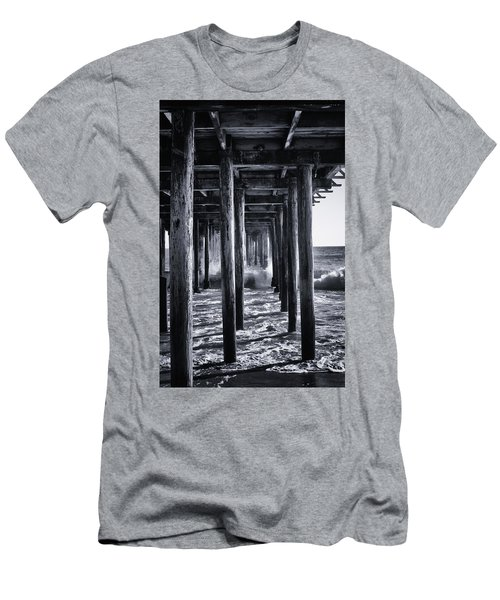 Hall Of Mirrors Men's T-Shirt (Slim Fit) by Lora Lee Chapman
