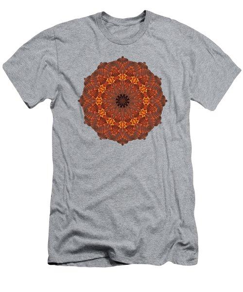Halloween Kaleidoscope Sliver1-285 Men's T-Shirt (Athletic Fit)