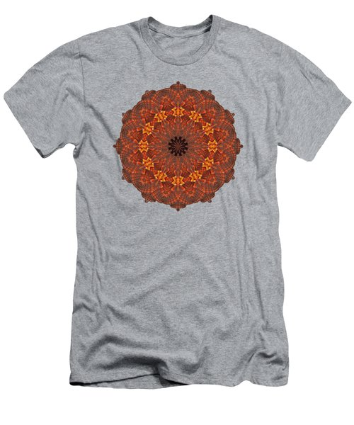 Halloween Kaleidoscope Sliver1-285 Men's T-Shirt (Athletic Fit)