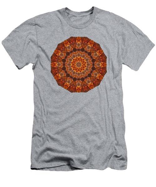 Halloween Kaleidoscope Sliver2-90 Men's T-Shirt (Athletic Fit)