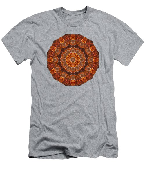 Halloween Kaleidoscope Sliver2-90 Men's T-Shirt (Athletic Fit)