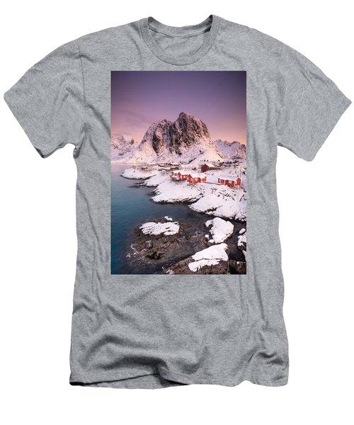 Hamnoy Men's T-Shirt (Slim Fit) by Alex Conu