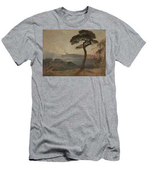 Hampstead Heath, Sunset Men's T-Shirt (Athletic Fit)