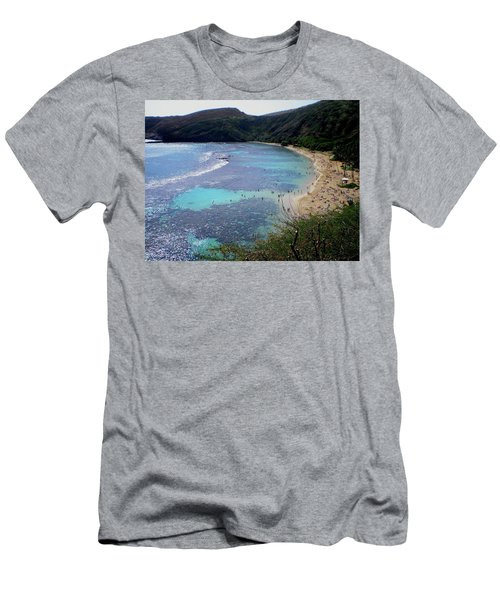 Hanauma Bay Men's T-Shirt (Athletic Fit)