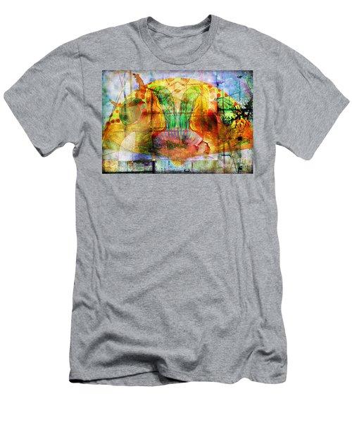 Handheld Fan Men's T-Shirt (Athletic Fit)