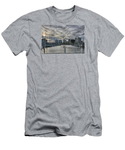 Hanging Out At The T-head Men's T-Shirt (Athletic Fit)