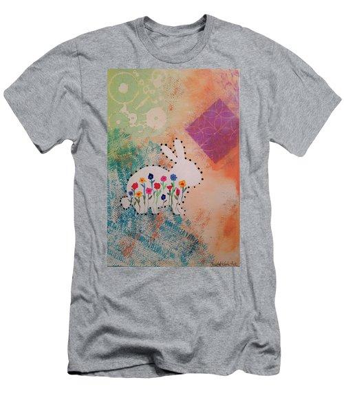 Happy Garden Men's T-Shirt (Athletic Fit)