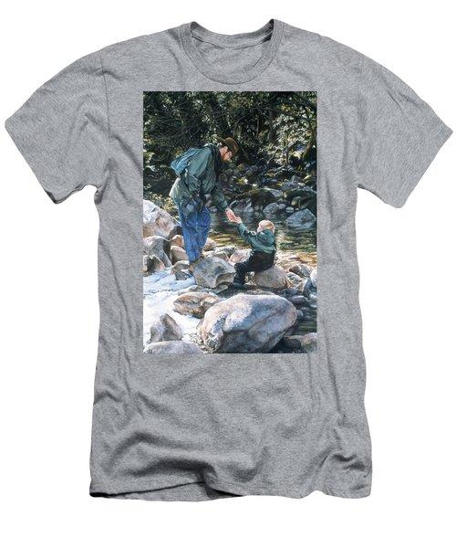 Happy Isles Men's T-Shirt (Athletic Fit)