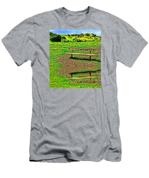 Happy Place Men's T-Shirt (Athletic Fit)
