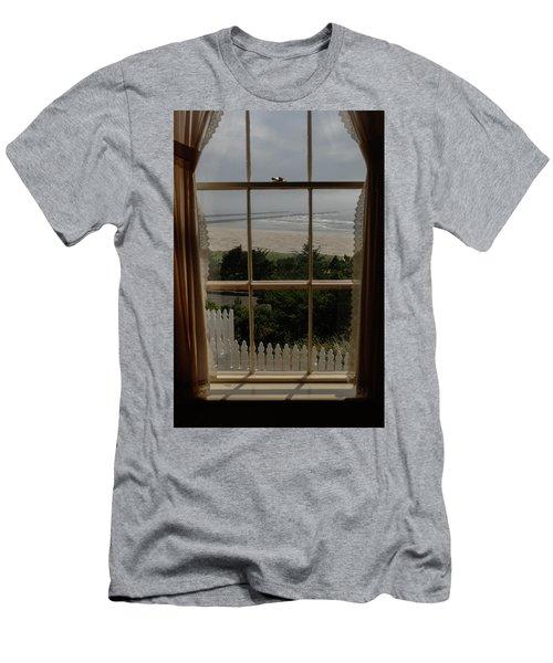 Harbor Entrance Men's T-Shirt (Athletic Fit)