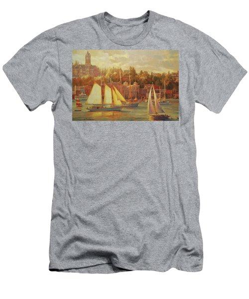Harbor Faire Men's T-Shirt (Athletic Fit)