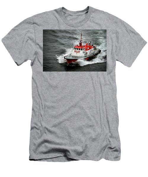 Harbor Master Pilot Men's T-Shirt (Slim Fit) by Allen Carroll