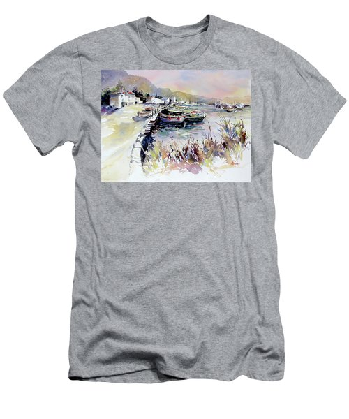 Harbor Shapes Men's T-Shirt (Athletic Fit)