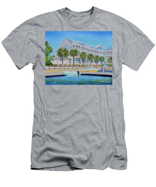 Harborside Marina Men's T-Shirt (Athletic Fit)