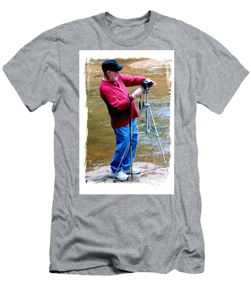 Hard At Work Men's T-Shirt (Slim Fit) by Marilyn Carlyle Greiner
