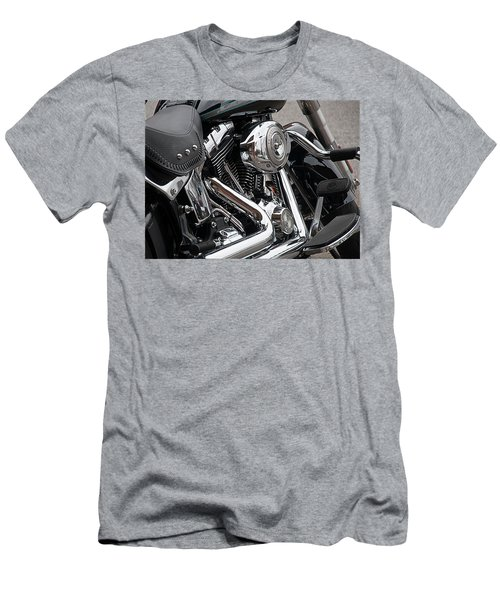 Harley Chrome Men's T-Shirt (Athletic Fit)