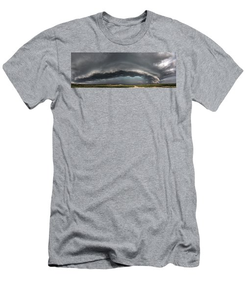 Harlowton, Montana, Supercell Men's T-Shirt (Athletic Fit)