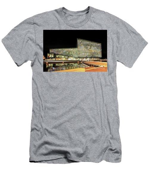 Harpa, Reykjavik Men's T-Shirt (Athletic Fit)