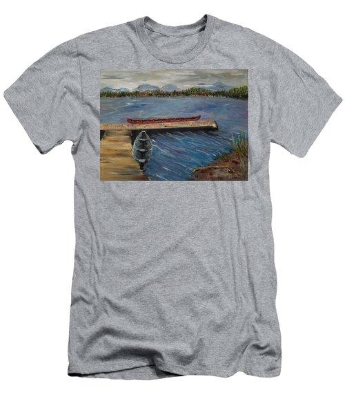 Harriet Hunt Lake, Ketchikan, Alaska Men's T-Shirt (Athletic Fit)