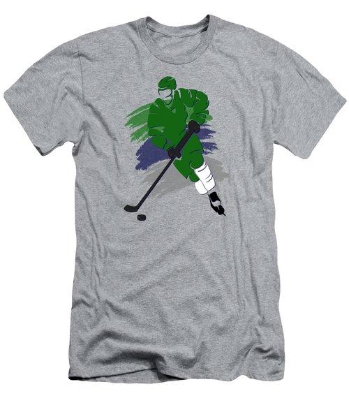 Hartford Whalers Player Shirt Men's T-Shirt (Slim Fit) by Joe Hamilton