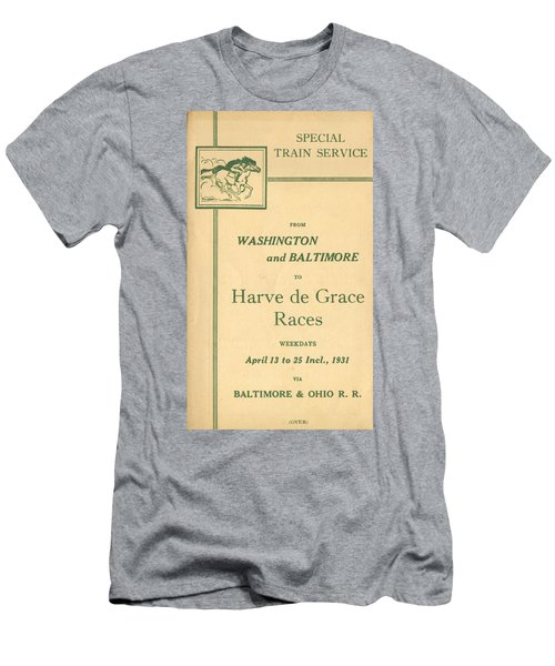 Harve De Grace Races Men's T-Shirt (Athletic Fit)