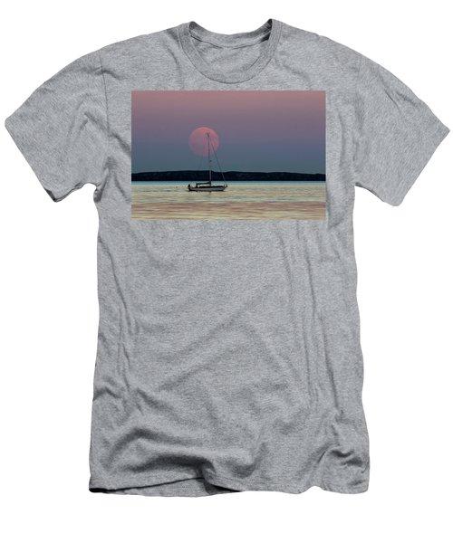 Harvest Moon - 365-193 Men's T-Shirt (Slim Fit) by Inge Riis McDonald