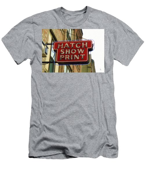 Hatch Show Print Men's T-Shirt (Athletic Fit)