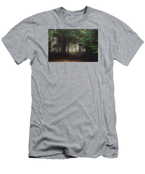 Haunted Forest #2 Men's T-Shirt (Athletic Fit)