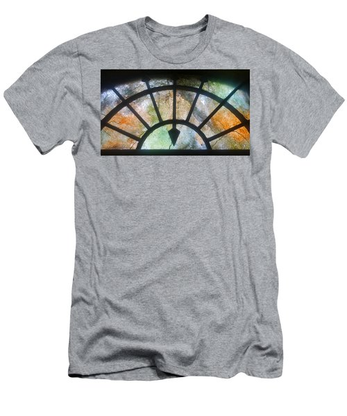 Haunted Window Men's T-Shirt (Athletic Fit)