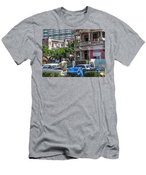 Havana Cuba Men's T-Shirt (Slim Fit) by Charles Harden