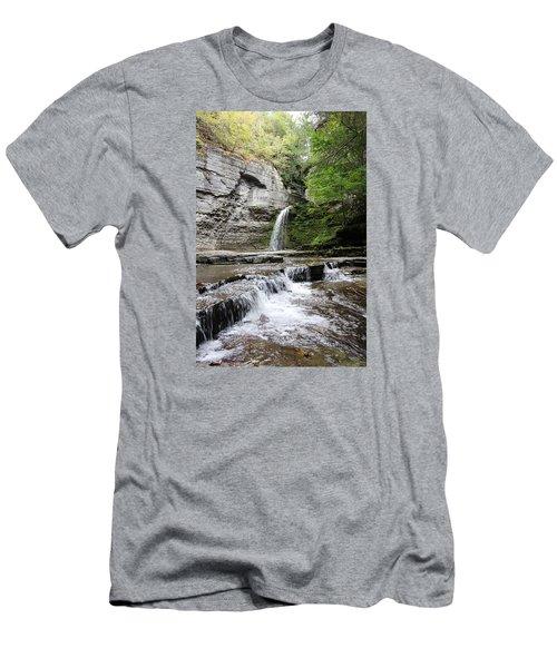 Eagle Cliff Falls II Men's T-Shirt (Athletic Fit)