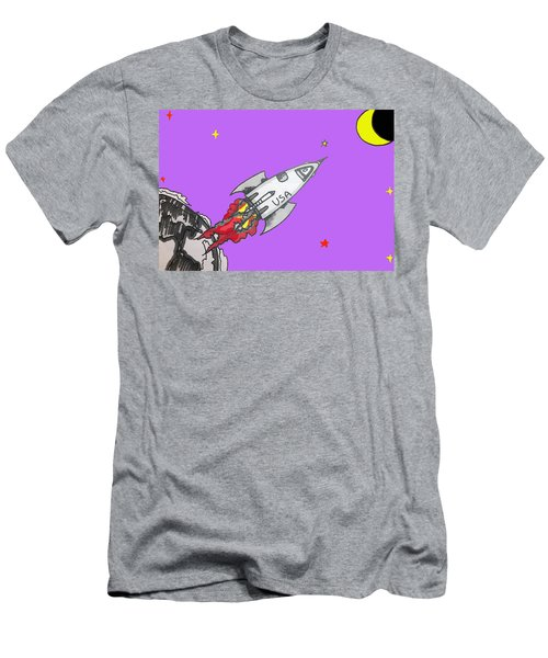 Have Spacesuit Will Travel Men's T-Shirt (Athletic Fit)